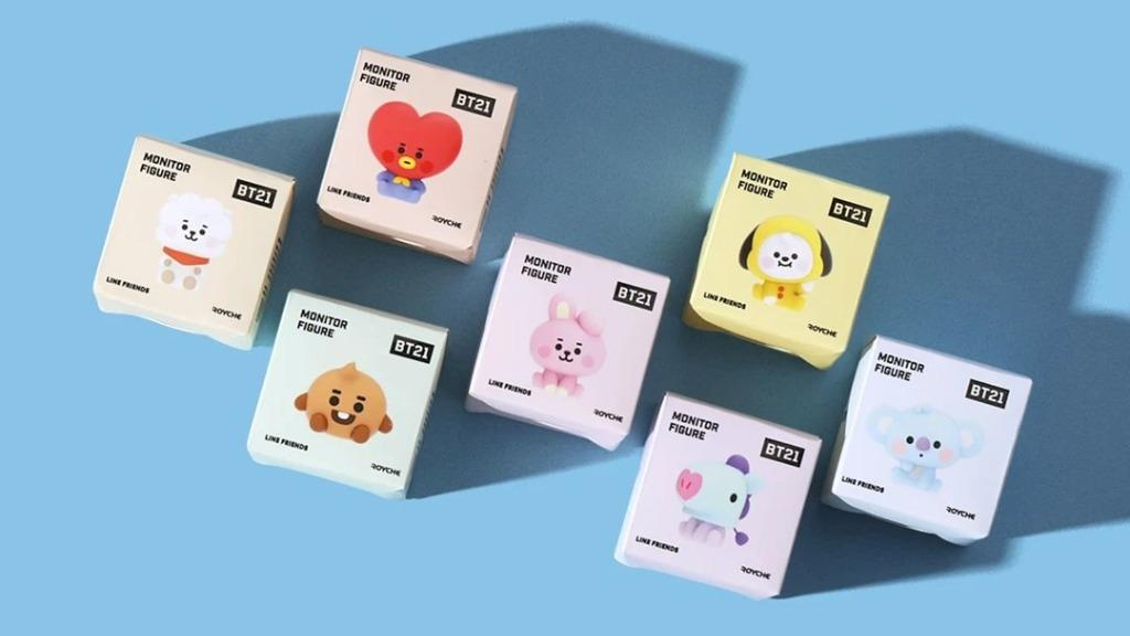 [READY STOCK] BT21 Official Authentic Goods Monitor Figure Baby Ver by Royche BTS