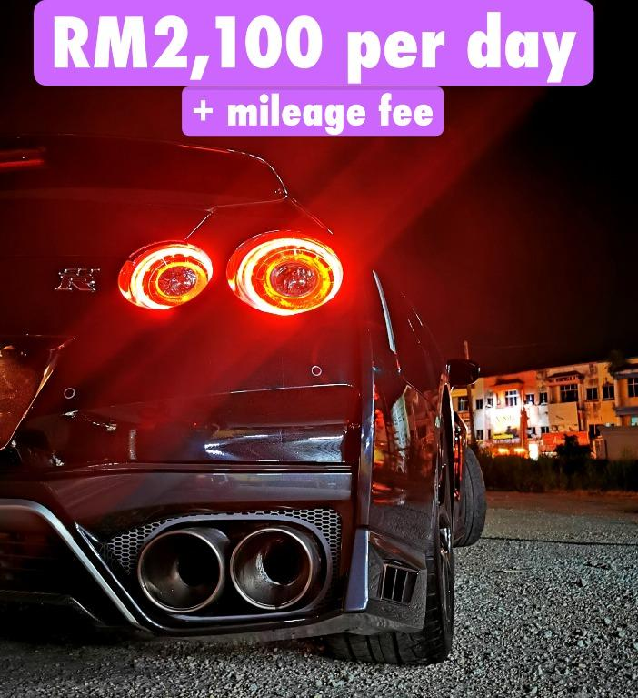 Rent a Nissan GTR35 Year Made 2018 in Kuala Lumpur