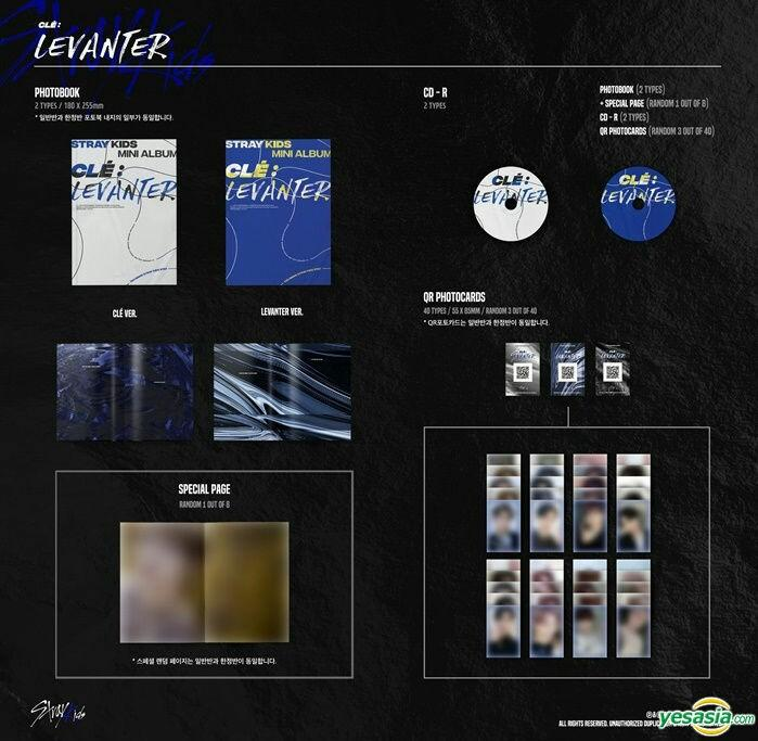 [PRE ORDER] STRAY KIDS CLE: LEVANTER (NORMAL EDITION)
