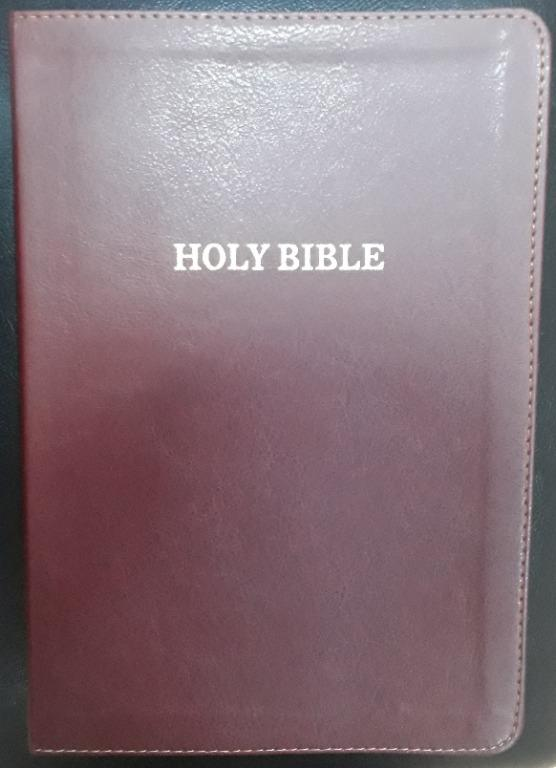 Thomas Nelson KJV Large Print Thinline Bible (Burgundy Leathersoft)