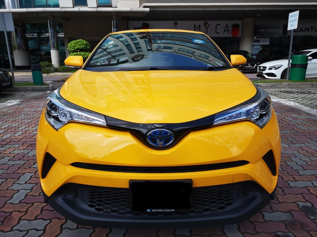 """Toyota C-HR Hybrid 1.8A S for Rental (Click """"read more"""" for more details)"""