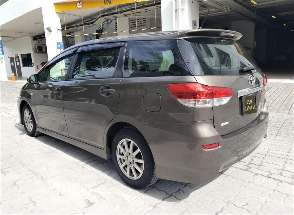 Toyota Wish Superb condition! Hurry reserve for special CNY rates @ 85884811. Cheapest rental in town with just $500 Deposit driveoff immediately!