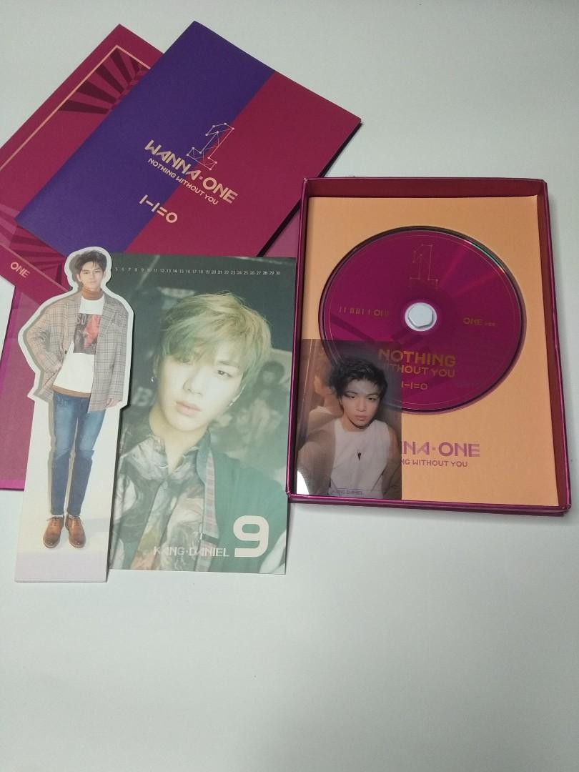 Wanna One Nothing Without You Beautiful wine ver Full set