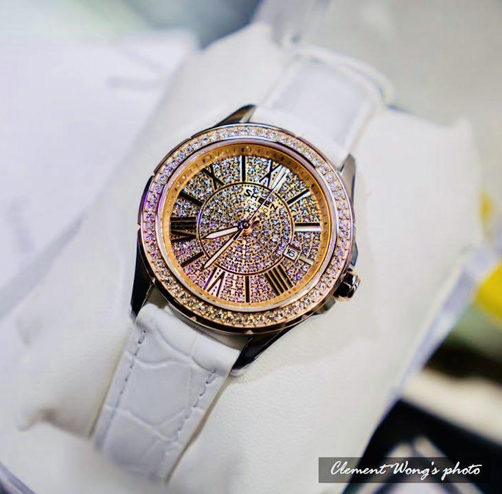 NEW🌟SHEEN GLAMOUR WATCH : 100% ORIGINAL AUTHENTIC CASIO SHEEN : by BABY-G SHOCK ( GSHOCK )  Company : Swarovski Crystal & Element : SHE-4510GL-9AUDR (WHITE ROSE-GOLD)