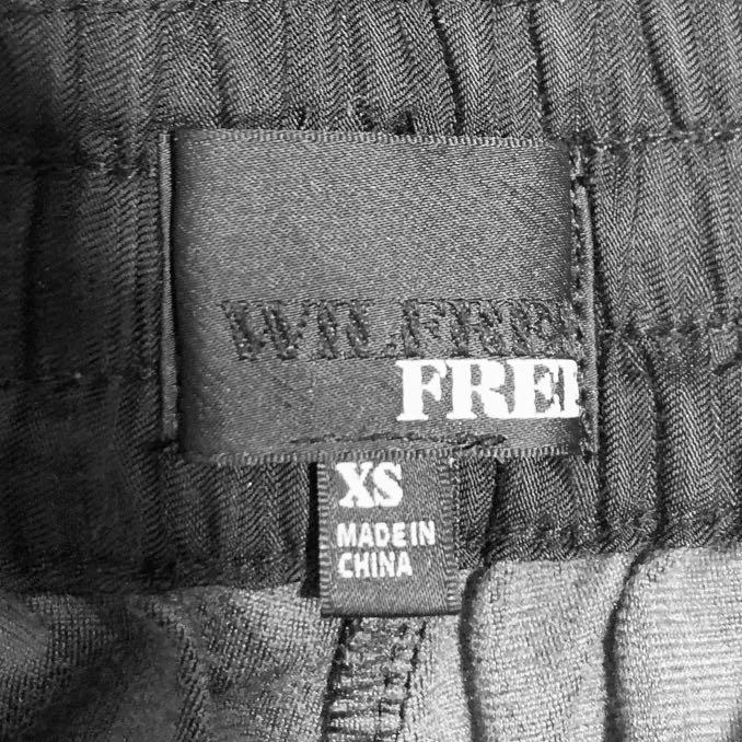 Wilfred Free | Black Schiffer Faux Leather Joggers