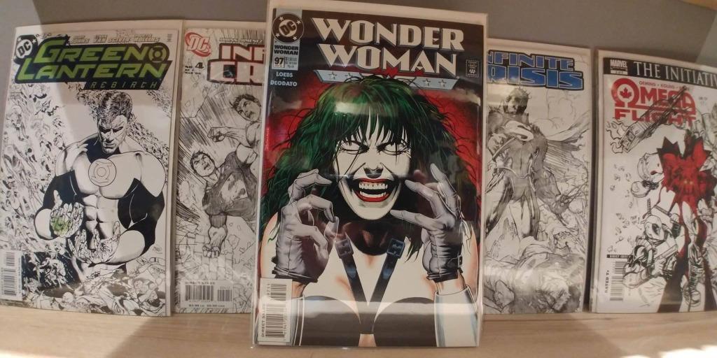 Wonder JOKER Wonder Woman (1987 2nd Series) # 97 COVER BY BRIAN BOLLAND