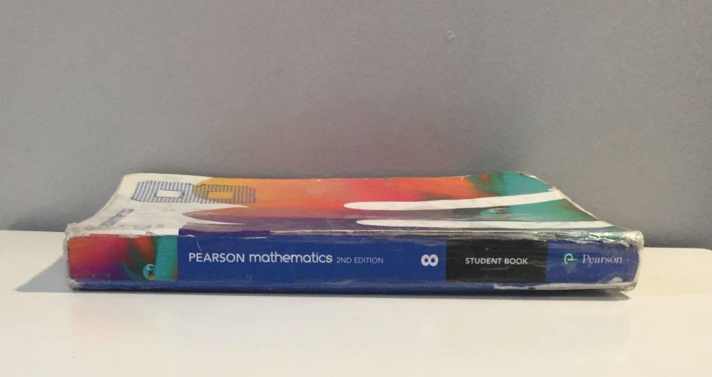 Year 8 Pearson Mathematics S.B. 2nd Edition Textbook