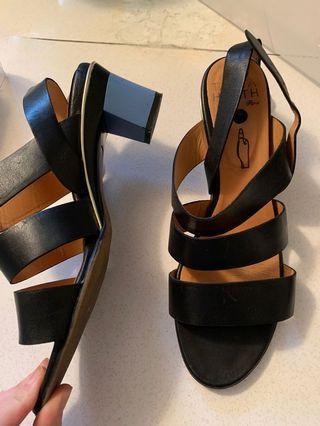 Tanya Heath Block Sandals