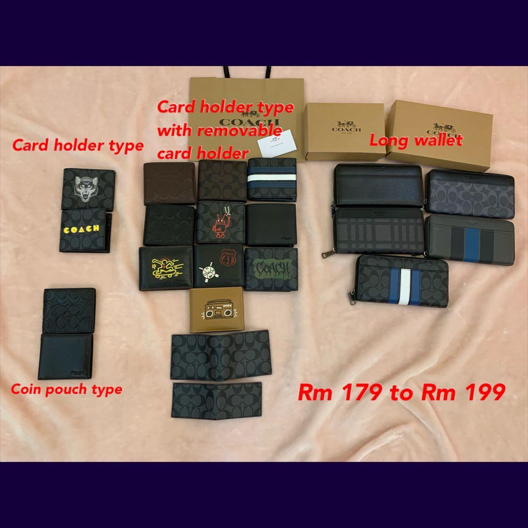 (180120)Ready stock authentic coach women bag wallet purse clutch sling bag crossbody totes bhjjtg