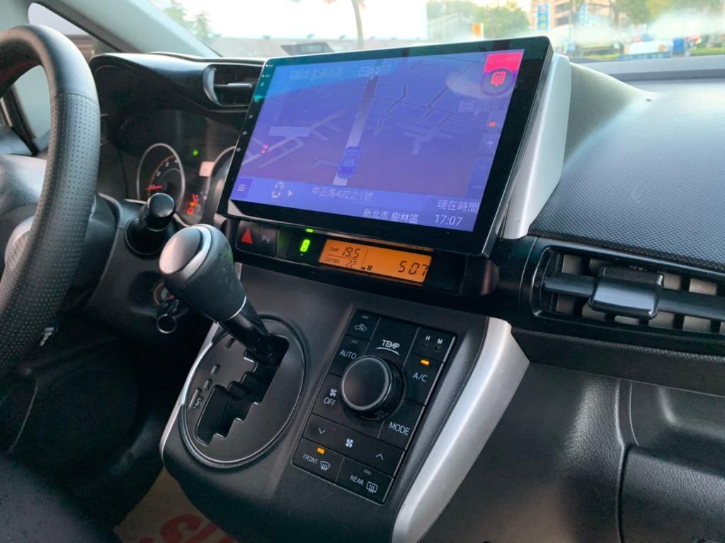 正2012年 最新款Toyota Wish 2.0E高階皮椅版 原廠星燦白色