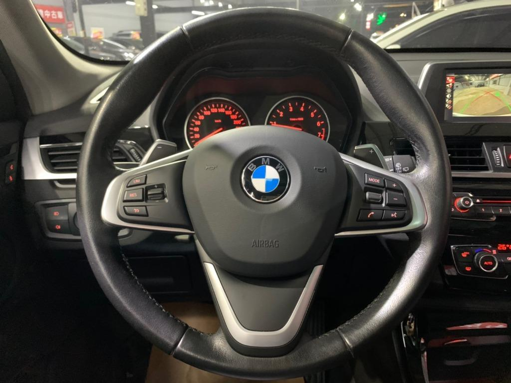 正2016年出廠 總代理 BMW X1 S-Drive 20i 星燦白