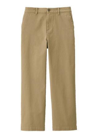 無印良品米色褲