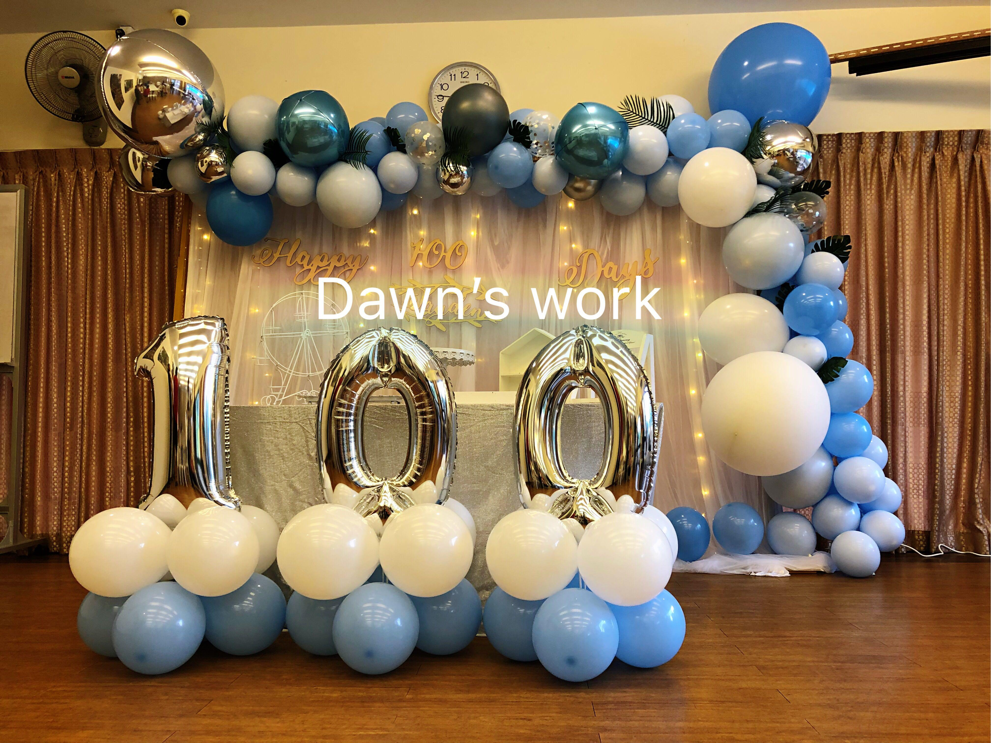 Balloon Garland Balloon Decoration Party Backdrop Photo Booth Backdrop Desert Table Backdrop Design Craft Others On Carousell
