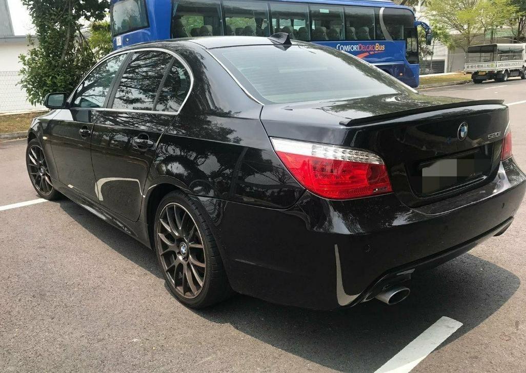 BMW E60 M. SPORT BODY (SG CAR COMPLETE MALAYSIA DOCUMENT, HALAL DI ATAS JALAN RAYA MALAYSIA)