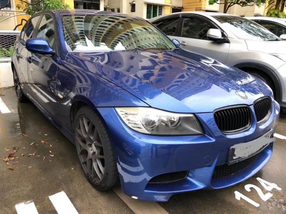BMW E90 M. SPORT BODYKIT (SG CAR COMPLETE MALAYSIA DOCUMENT, HALAL DI ATAS JALAN RAYA MALAYSIA)