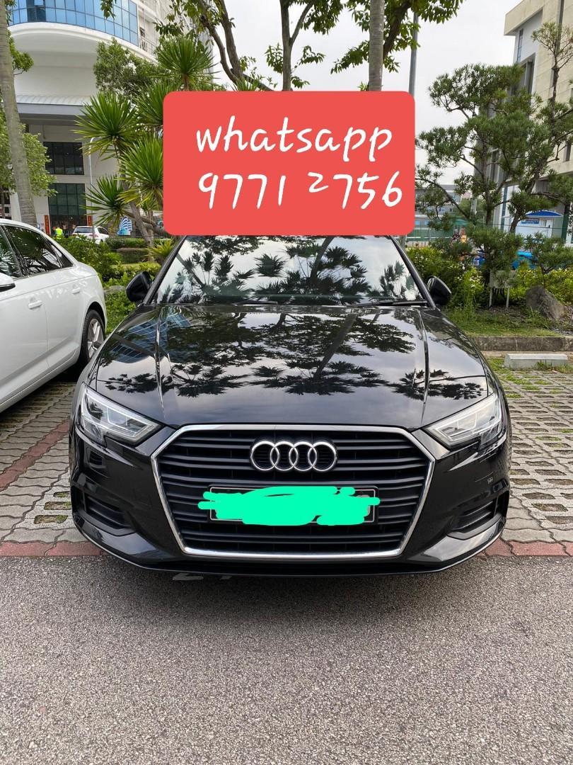CNY PREMIUM CAR RENTAL FOR : Audi A3 sedan 1.0A TFSI S-tronic