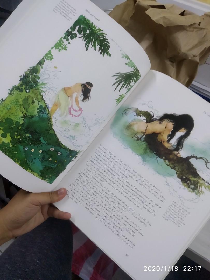 HARDBOUND An Illustrated Treasury of Myths and Legend by James Riordan / Brenda Ralph Lewis