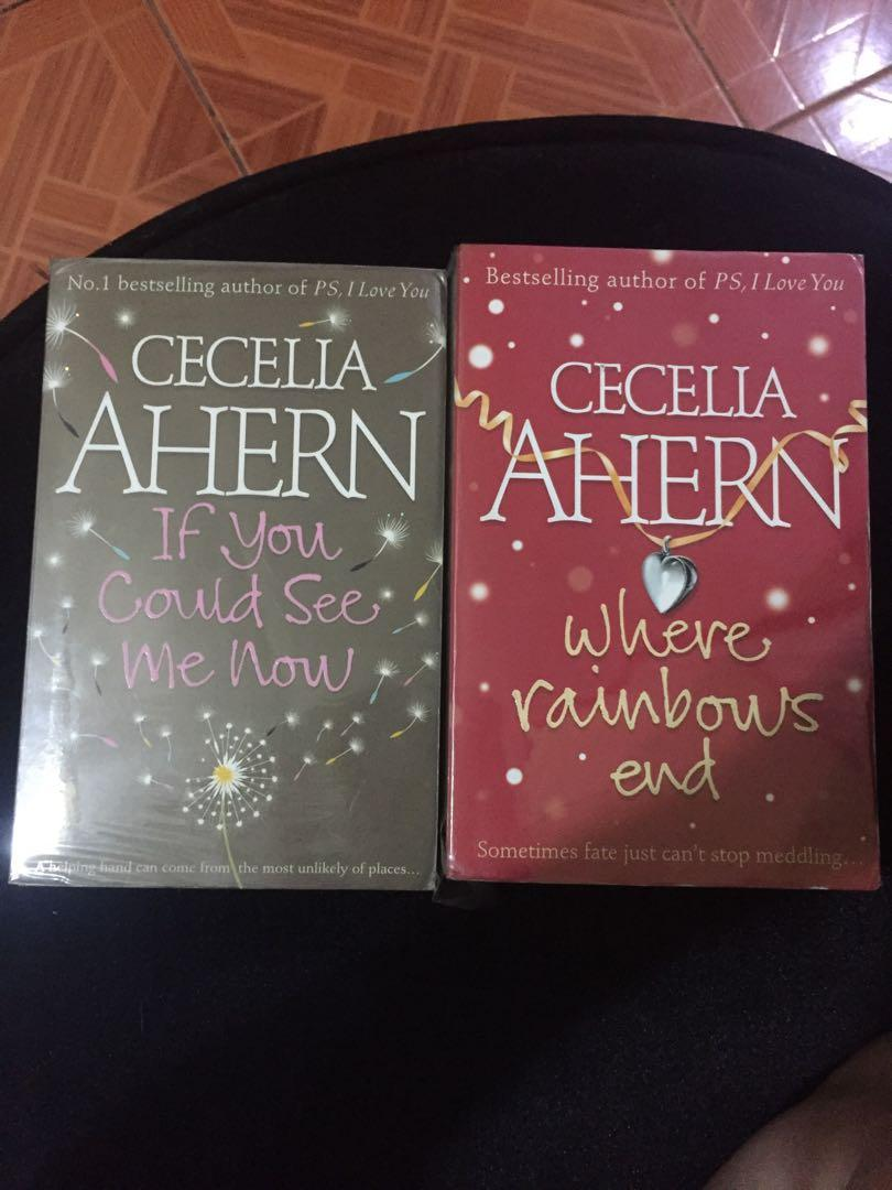 If you could see me now & Where Rainbow's End by Cecelia Ahern Bundle
