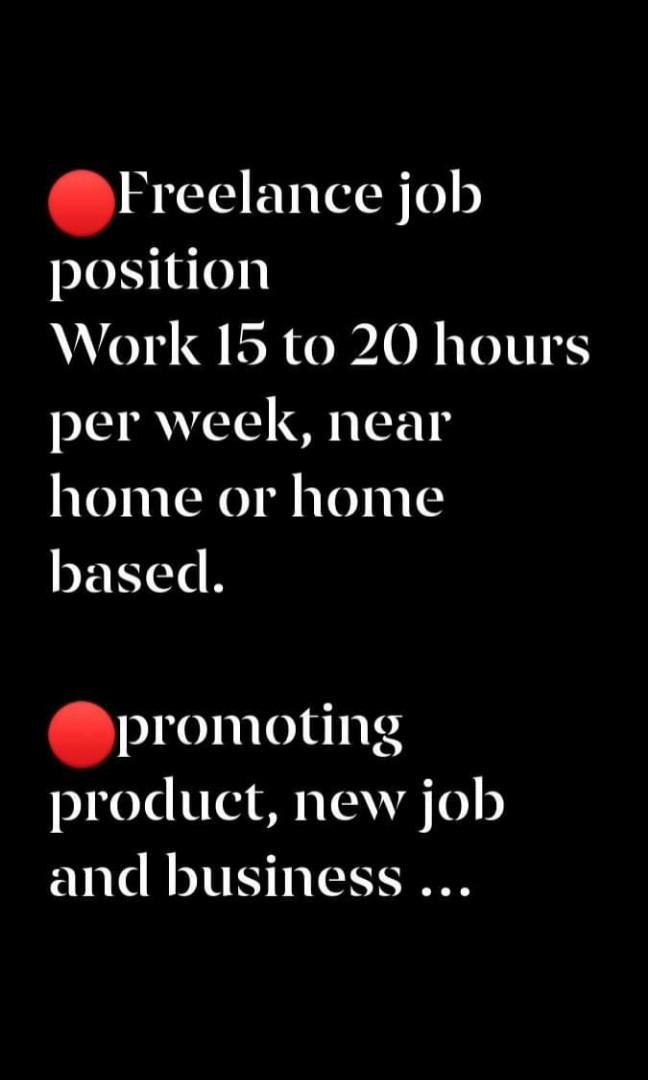 Looking for full time/ part-time / freelance sales personnel