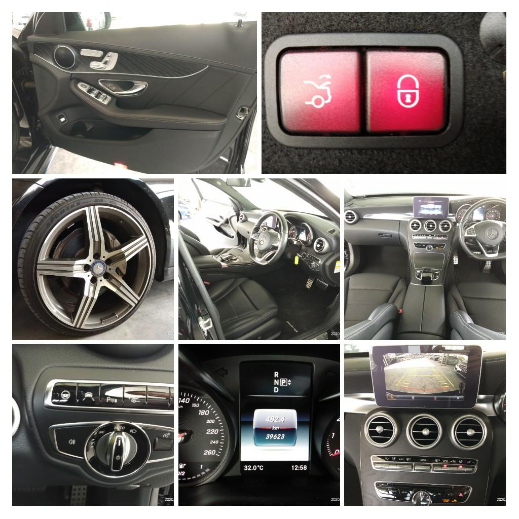 MERCEDES C200AMG SPEC 2.0 f~Japan price on the road RM178,888.88 BANK~interest~1.99%