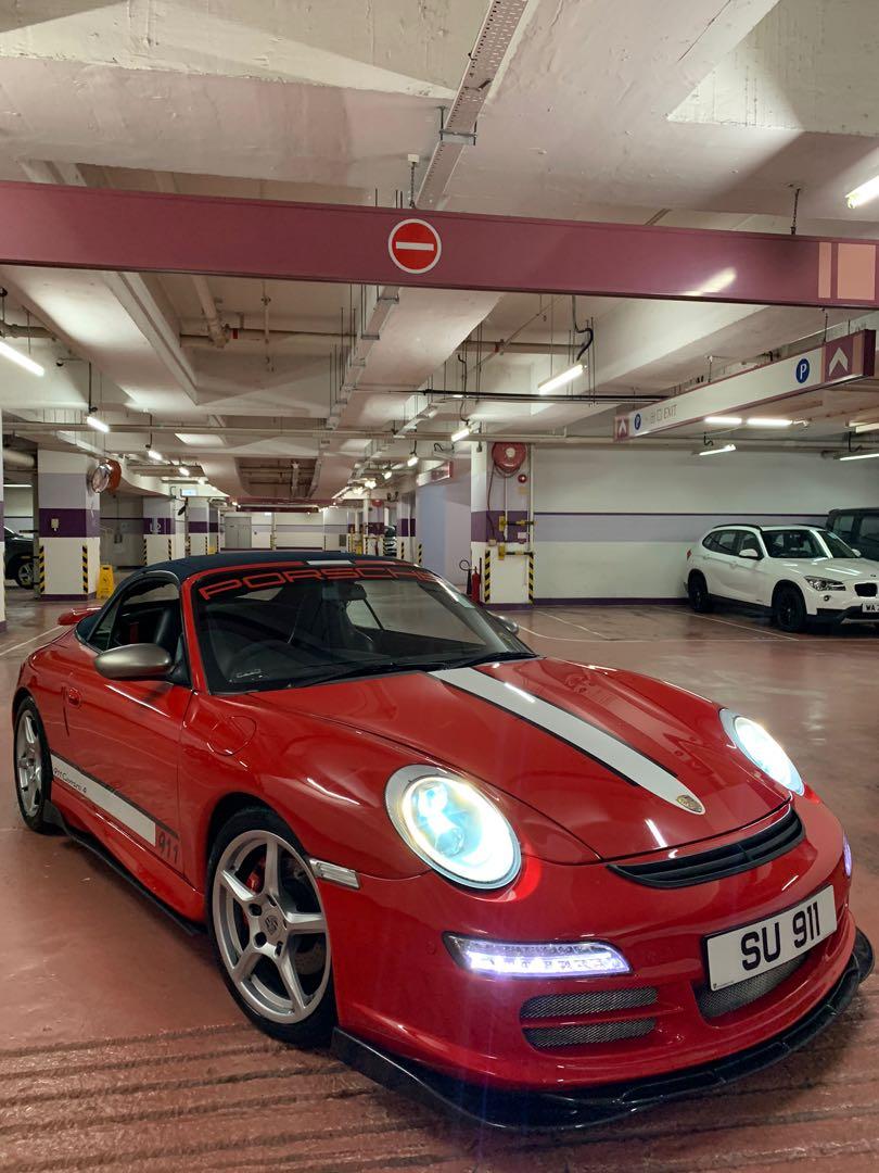 Porsche 911 3.4 Carrera 4 Cabriolet (A)