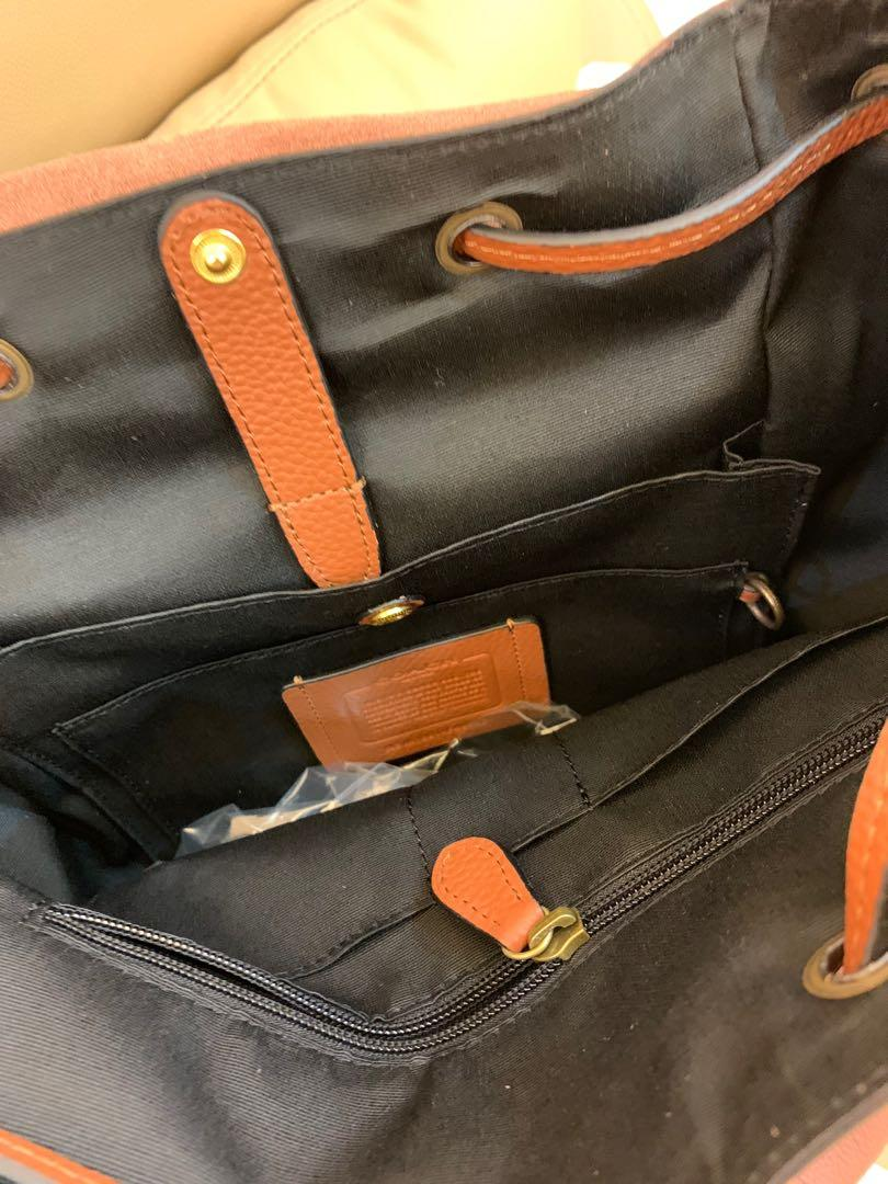Ready stock authentic coach 49543 men backpack traveller bag cny clearance hhbbjbh