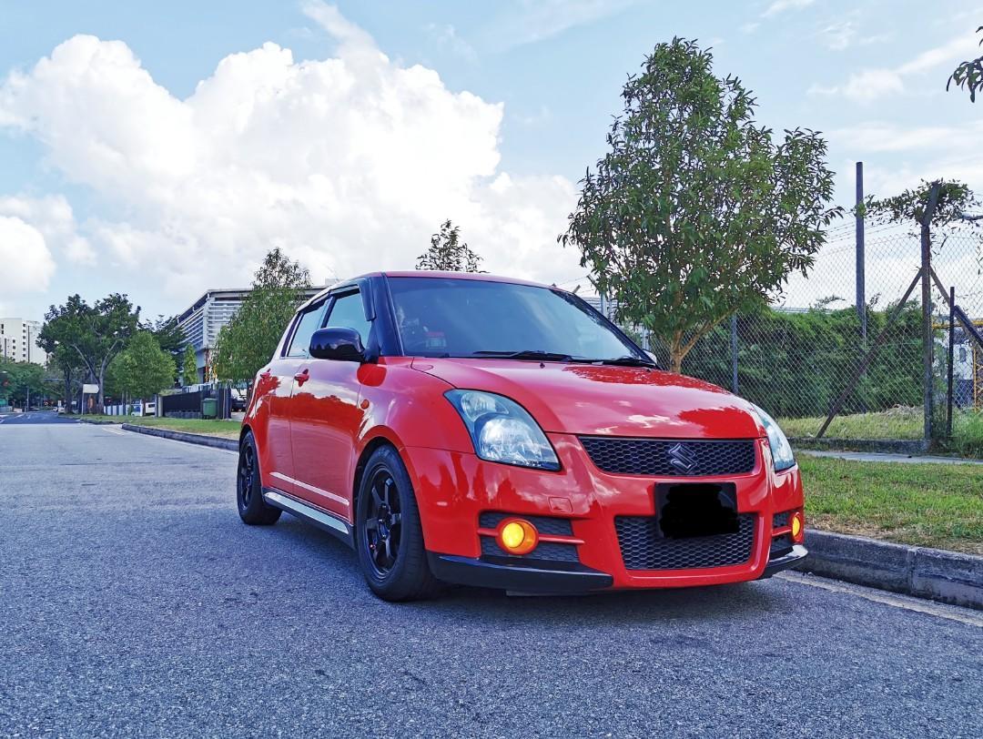 Suzuki Swift Sport Manual For Long Term Lease