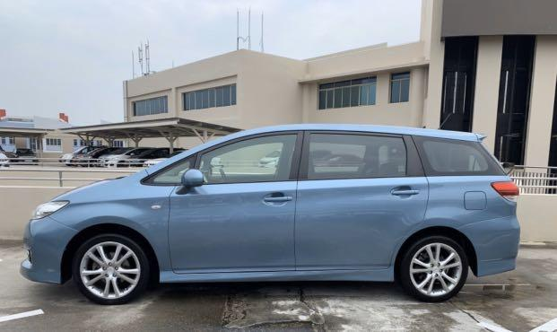 Toyota Wish 1.8A @$420 Weekly