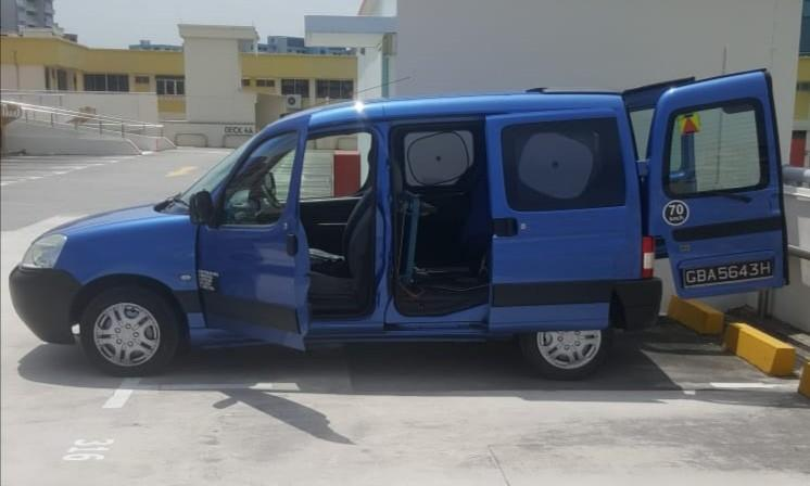 Van (with good engine and gear). Good for new delivery business startup.