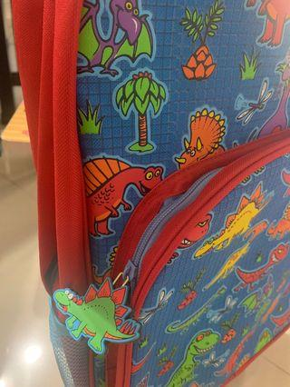 BNWT Inky Dinosaur Trolley bag