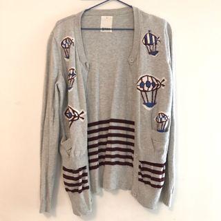 專櫃Gozo 針織刺繡外套