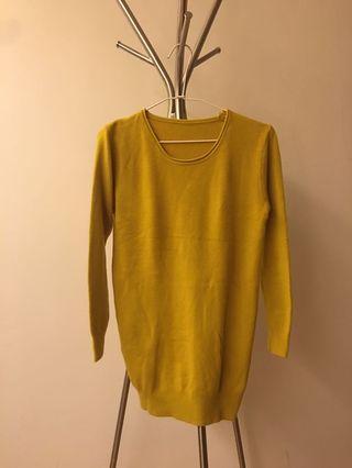 Epanouir 芥末黃上衣