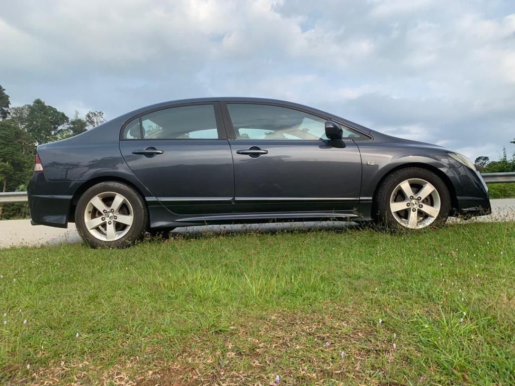 2007 Honda CIVIC 1.8 i-VTEC (A) B/L LOAN KEDAI DP 3-5k