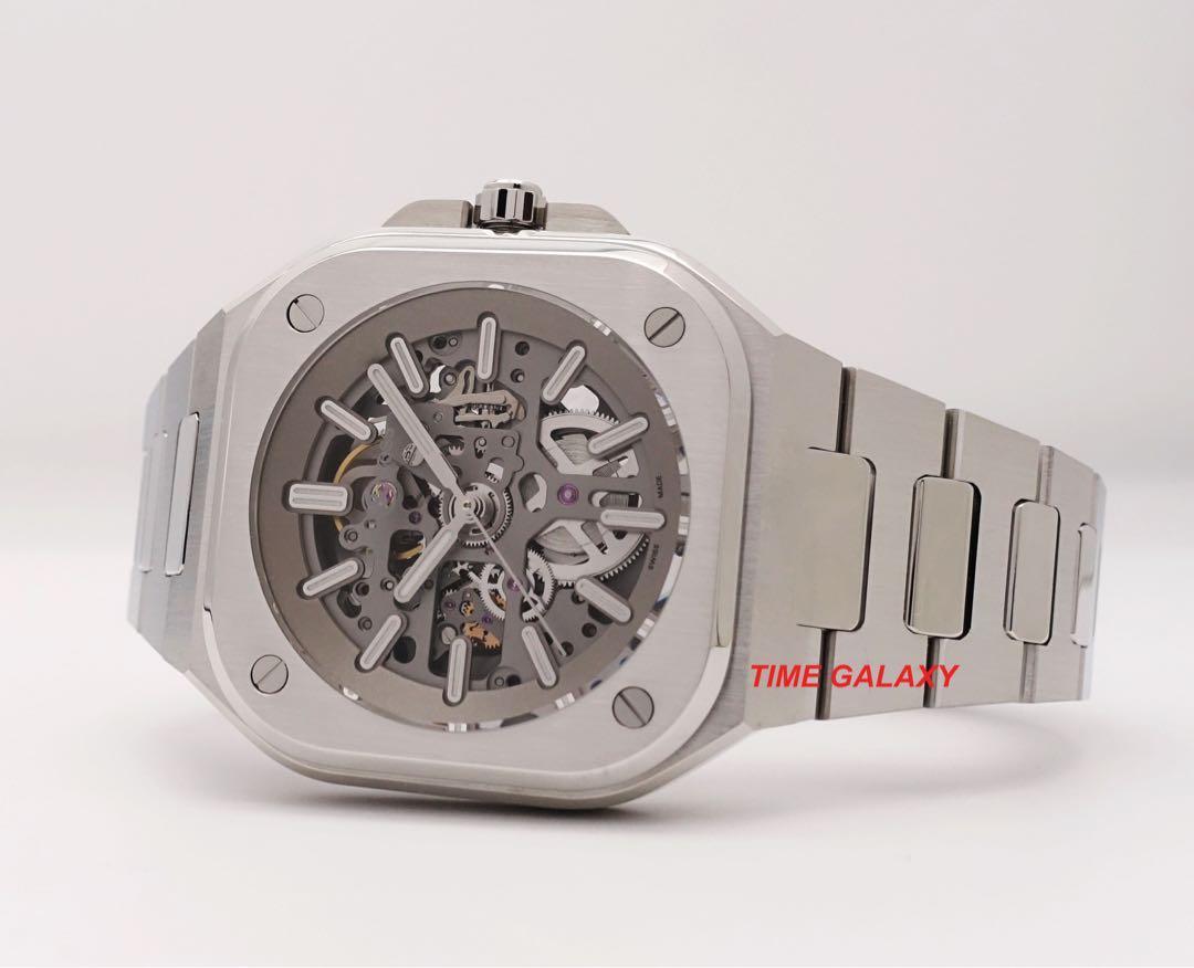 BELL & ROSS BR05 Skeleton Automatic Stainless Steel 40mm Bracelet watch