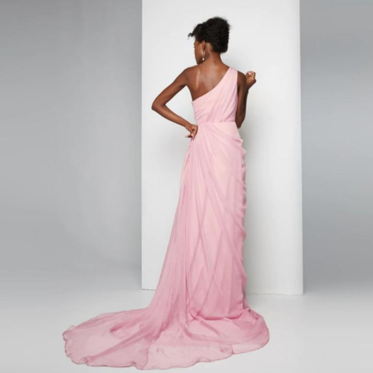 BNWT FAME & PARTNERS PINK ODESSA DRESS - SIZE 8 AU/4 US (RRP $499)
