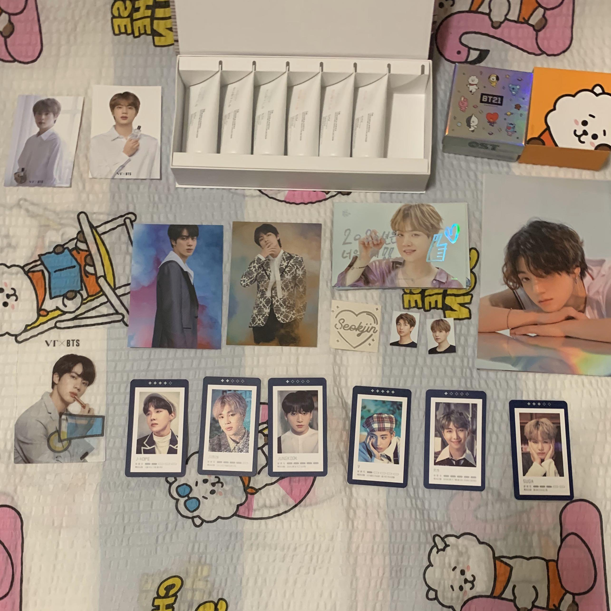 CLEARANCE OFFICIAL BTS & BT21 OFFICIAL ITEMS