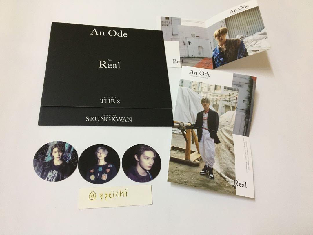 [CNY CLEARANCE] SEVENTEEN AN ODE Unsealed Album Set