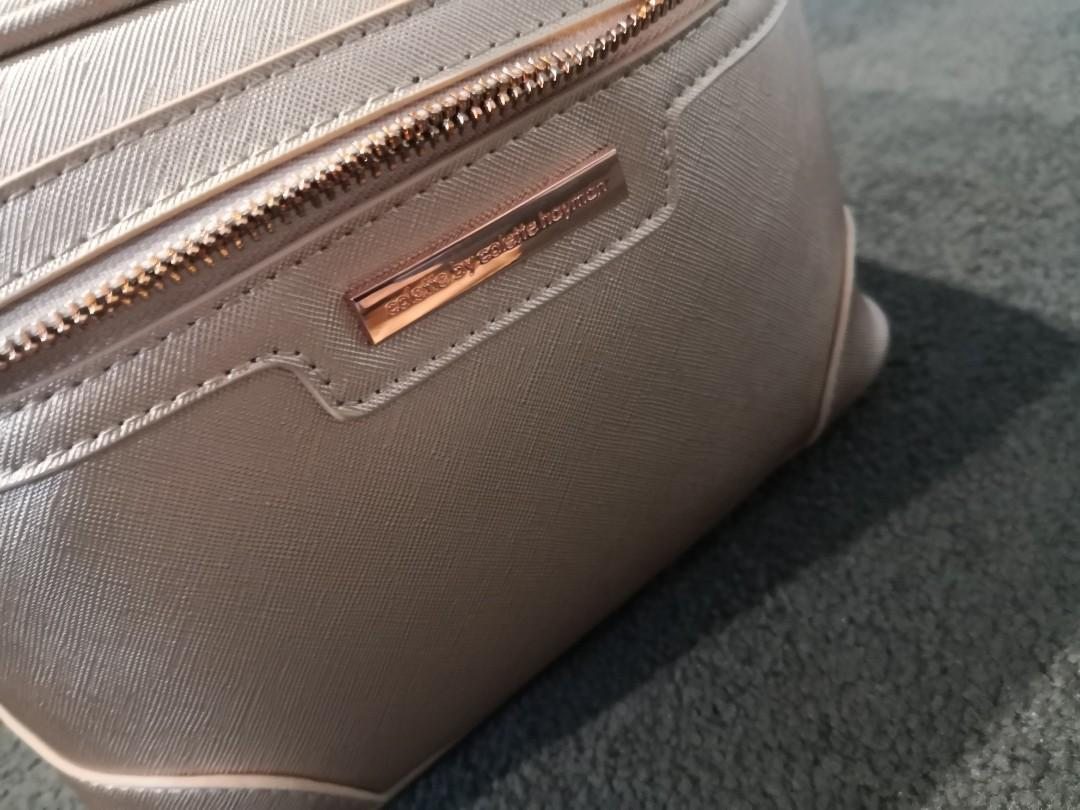 Colette (2Pc) Makeup/Storage Bag - Rose Gold - New with Tags!