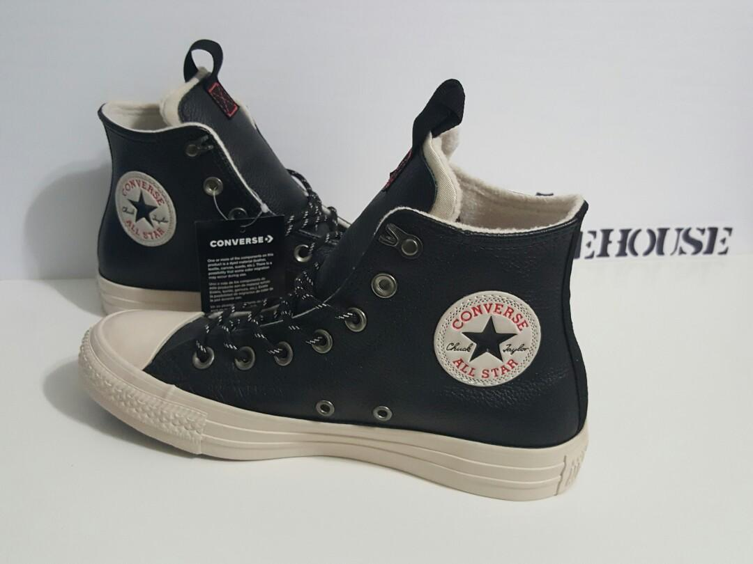 difícil cabina Excepcional  CONVERSE CHUCK TAYLOR ALL STAR DESERT STORM LEATHER HIGH TOP, Women's  Fashion, Shoes on Carousell