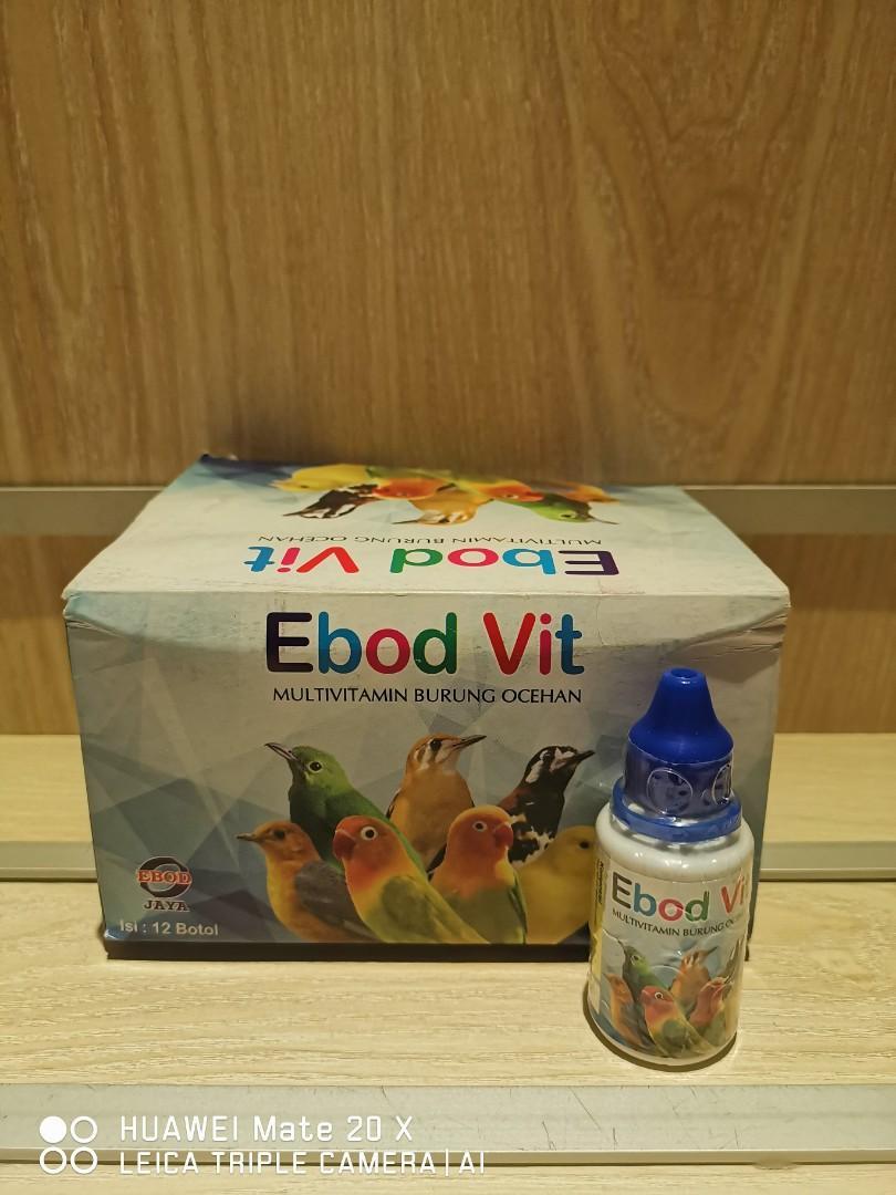 Ebod Vitamins Pet Supplies For Birds Bird Food On Carousell