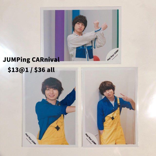 [多款] Hey! Say! JUMP 伊野尾慧 shop相 場限 生寫