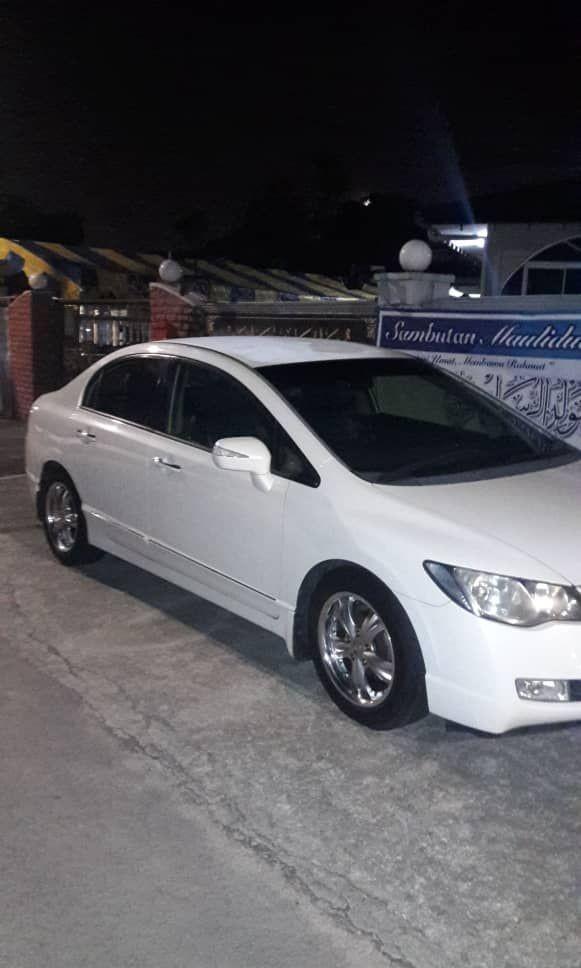 HONDA SIVIC FD (SG CAR COMPLETE MALAYSIA DOCUMENT, HALAL ATAS JALAN RAYA MALAYSIA)
