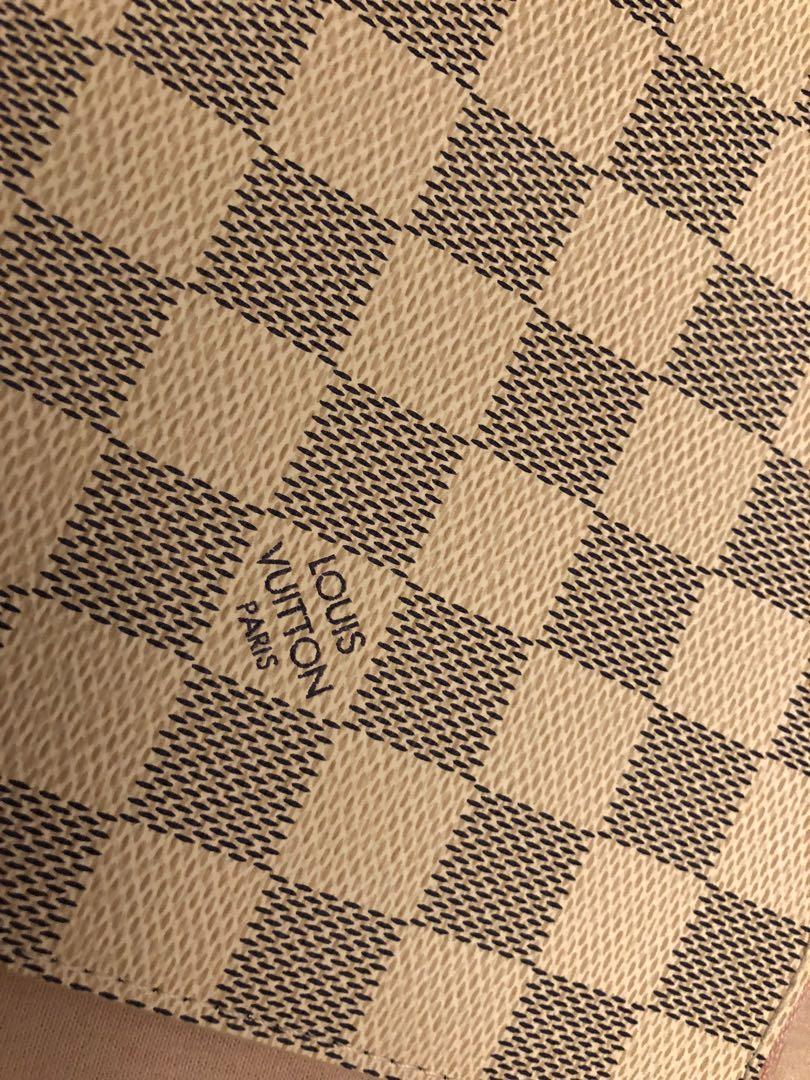 Authentic Louis Vuitton Damier Azur Pochette from the Neverfull