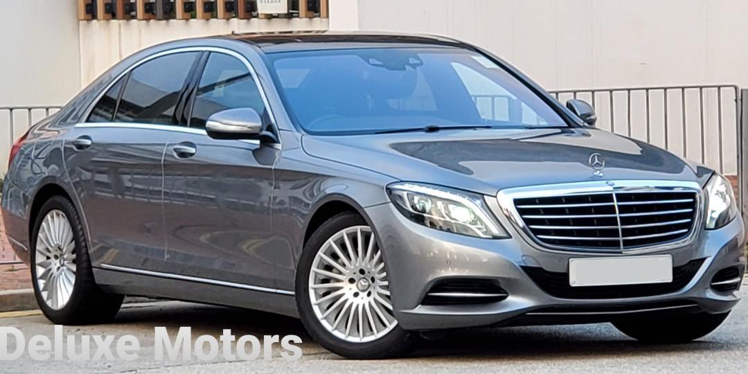 Mercedes-Benz S500L V8 Biturbo (A)