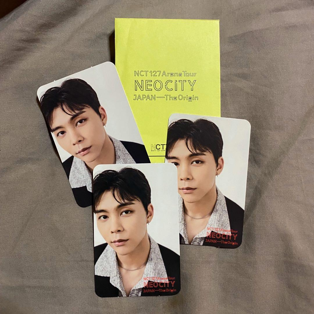 NCT 127 JOHNNY - NEO CITY JAPAN ARENA TOUR OFFICIAL FANCLUB PHOTOCARD