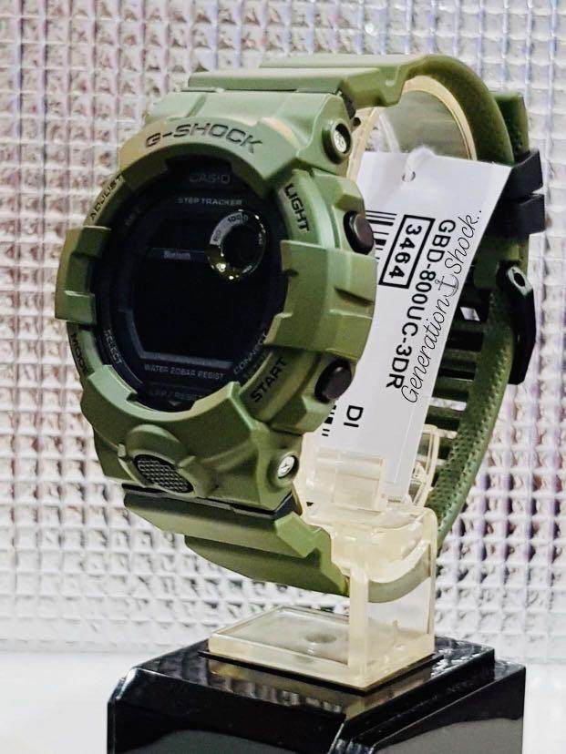 NEW🌟BLUETOOTH COUPLE💝SET : GSHOCK UNISEX DIVER SPORTS WATCH : 100% ORIGINAL AUTHENTIC CASIO G-SHOCK ( BABYG ) : GBD-800UC-3 / DW-5600BB-1