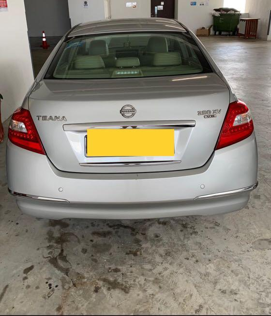 PHV RELIEF DRIVER for Nissan Teana (Jurong West Area)