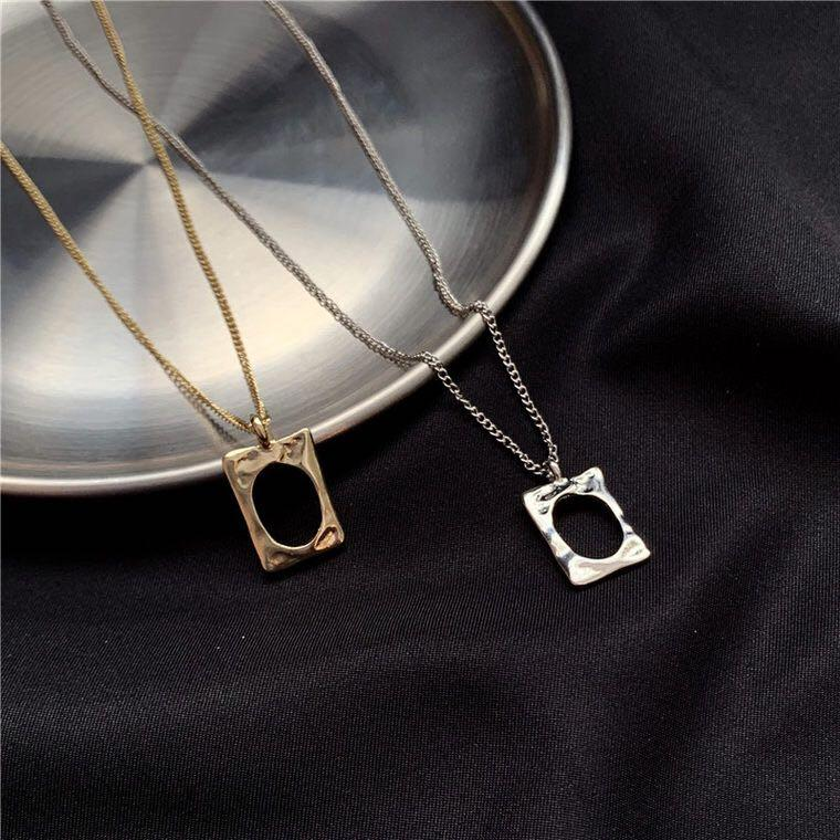 Po Tumblr Aesthetic Gold Silver Statement Dainty Necklace Women S Fashion Jewellery Necklaces On Carousell