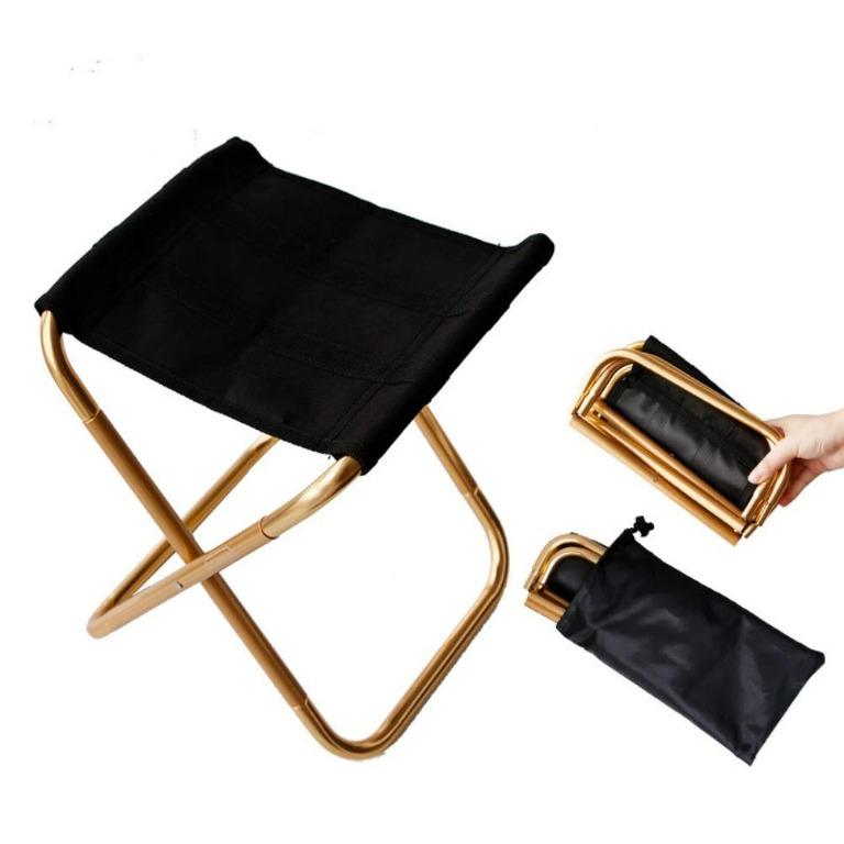 Portable Lightweight Picnic Foldable Chair with Carrying Bag