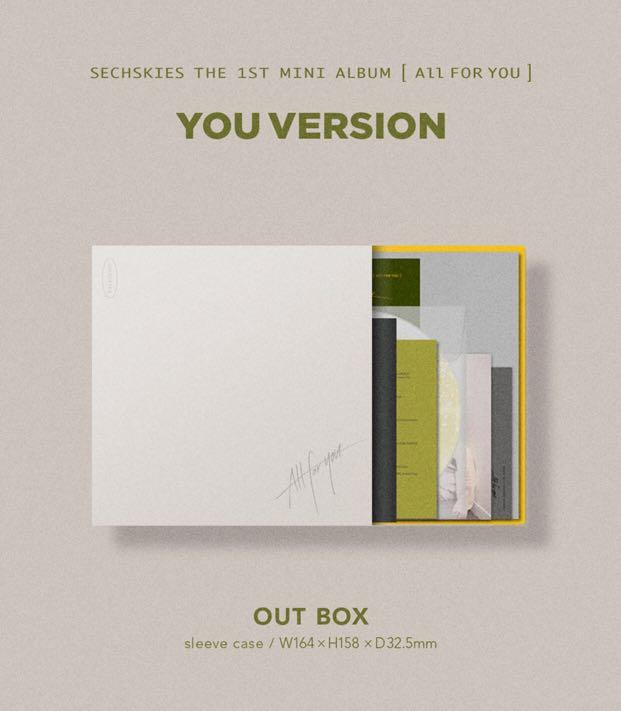 [PREORDER] SECHSKIES The 1st Mini Album - ALL FOR YOU